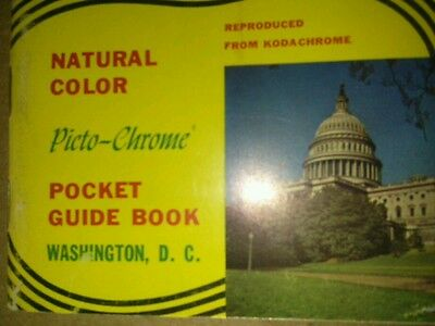 Kodachrome pocket guide book of Washington D.C. Natural Color.