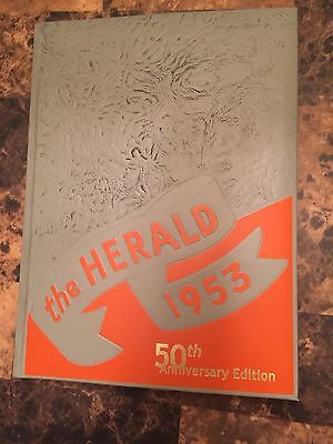 Elvis replica 1953 Humes yearbook - 50th Anniversary Edition