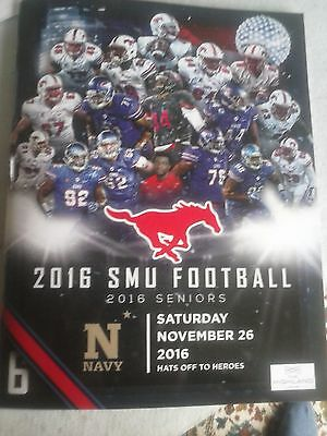college football programme 2016 Navy at SMU