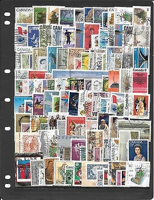 Canada Collection Of Used Stamps Bb0034