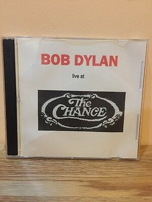 Bob Dylan 2 CD Set LIVE AT THE CHANCE 17 Tracks Very Good Condition