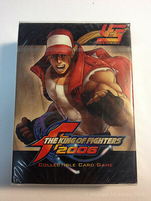 TERRY BOGARD - KING OF THE FIGHTERS Card Game CCG UFS Capcom Starter Deck SEALED