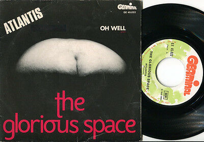 GLORIOUS SPACE - Atlantis / Oh Well 45 1969 MOD FREAKBEAT PSYCH FLEETWOOD MAC PS