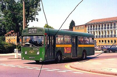 Bus Photo Of A London Country Photograph Picture,aec Merlin Swift+Morris Oxford.