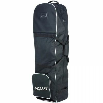 Golf Bag Cover With Wheels Professional Travel Lightweight Carrying Case Black