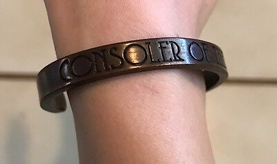 """The Raconteurs Copper Bracelet """"consoler Of The Lonely"""" Rare Third Man Records"""