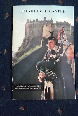 Edinburgh Castle- Guide[1960] With The Story Of The Castle Through Centuries