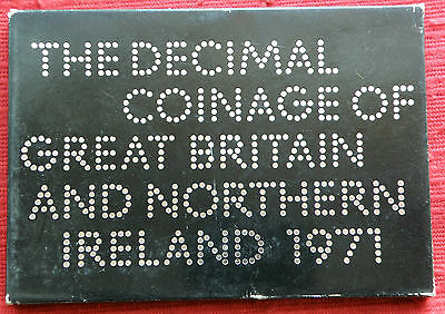 G.b. Royal Mint 1971 Proof Set Of 6 Coins, As Issued. Perfect