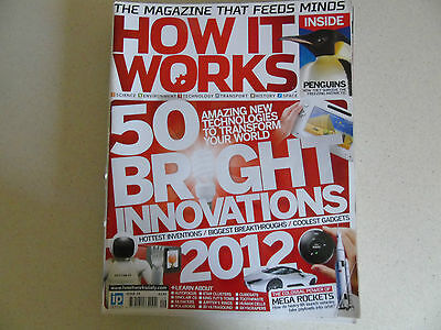 How It Works Magazine x 7 Issues