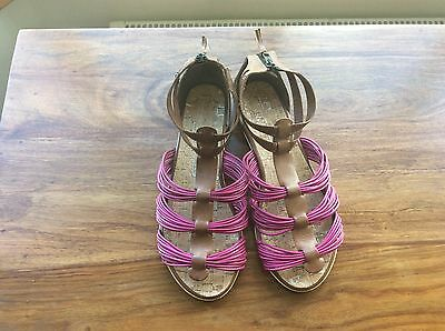 Ted Baker Tan Leather Sandals Size 6