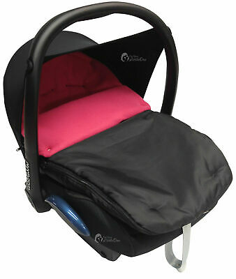 Car Seat  Footmuff / Cosy Toes Compatible with Graco Dark Pink