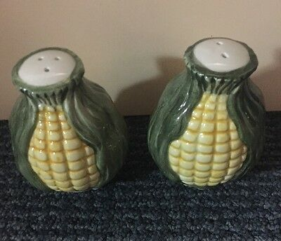 Corn Salt And Pepper Shakers