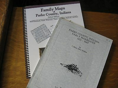 Family Maps of Parke County, Indiana