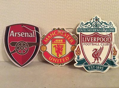 Football Car Air Fresheners - Liverpool Arsenal Manchester United Christmas Gift