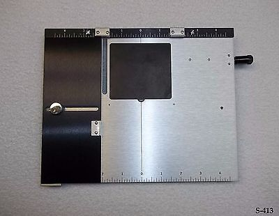 Kingsley Machine - 8x10 Inch Extension Baseplate - hot foil stamping Machine