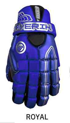 Maverik Chill Lacrosse Gloves Royal Blue 13""