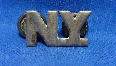 WWI Era 1920s NY New York State Guard Officer Collar Insignia