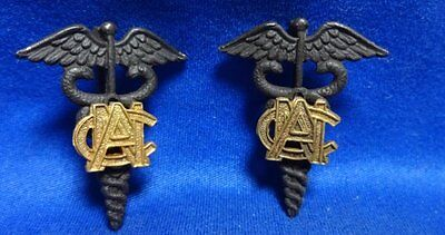 WWI ANC Army Nurse Corps Officer Insignia Set