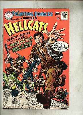 Our Fighting Forces #112-1968 vg+ Lt. Hunter's Hellcats