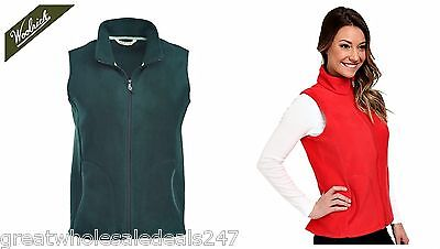 WOMEN'S 'WOOLRICH' ANDES FLEECE VEST  (Wholesale Lots of 24)