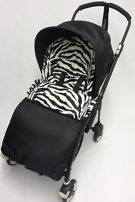 Animal Print  Footmuff / Cosy Toes Compatible with Pushchiar Zebra