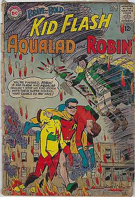 Brave and the Bold #54 (1964, DC) 1st App Teen Titans, Haney, Premiani, Fa+/G