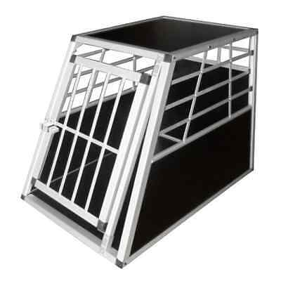 Dog Transport Cage Large Travel Car Vet Metal