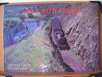 Nswgr 2 Books Away With Steam & Rail Scene New South Wales Vol 12 In Large Lands