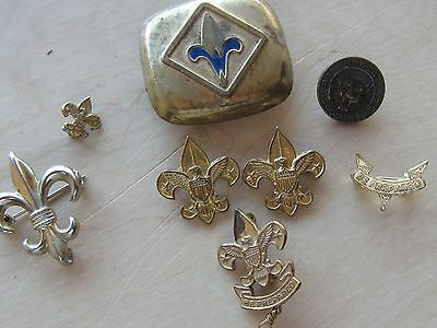 LOT of 8 VINTAGE BOY  SCOUT PINS