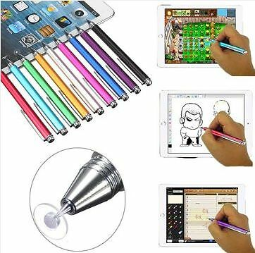 Fine Point Round Thin Tip Capacitive Stylus Pen for Tablet Cellphone TouchScreen