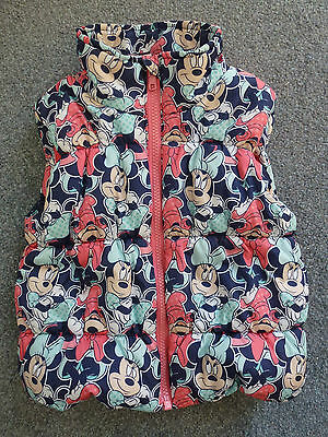 Kids, Girls, Disney Minnie Mouse by George, padded gilet, size 2-3 years