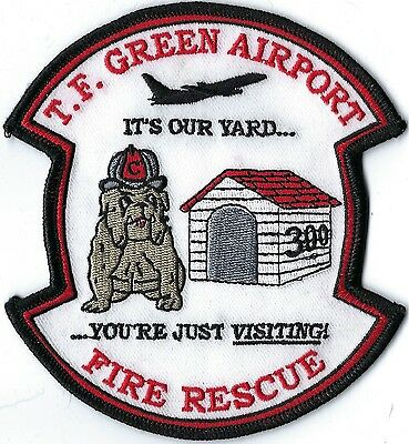T.f. Green Airport Fire Department Patch