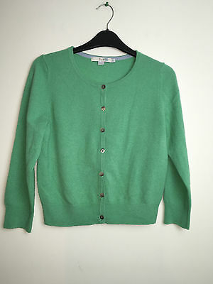 Used! Boden Cropped Cashmere Cardigan  Wu003  10 Online £69