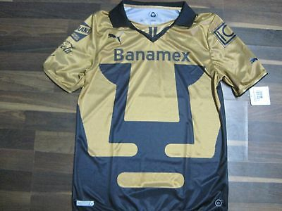 UNAM PUMAS HOME JERSEY Mexican League Shirt 2014