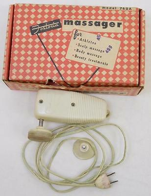 Vintage Fostoria 760A massager in original box Lot 192