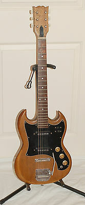 VINTAGE Early 1970s MIJ TYPE ELECTRIC GUITAR - FLOATING TREMOLO