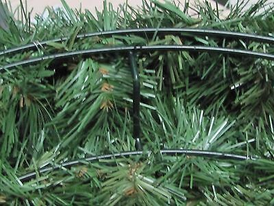 Extra heavy duty, indoor/outdoor plain artificial  Christmas tree wreath