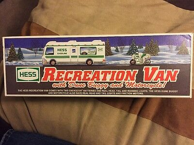 1998 HESS Recreation Van With Dune Buggy And Motorcycle!