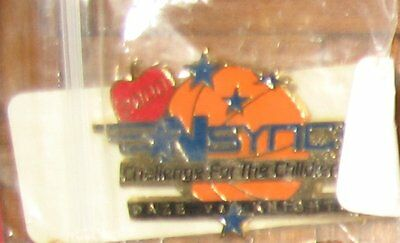 NSync Challenge For The Children 2000 Pin Button Justin JC Joey Chris Lance