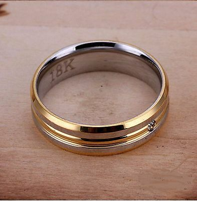 Mens 18k Classy Gold ring very solid 100% M/B/G SIZE 10