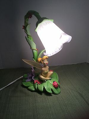 GORGEOUS 2006 Hampton Bay Tinker Bell Tulip Desk/Nightstand Lamp MINT CONDITION