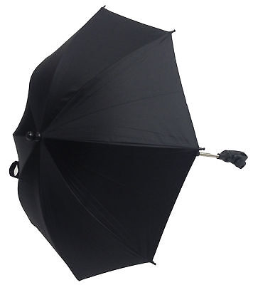 Baby Parasol Compatible with Silver Cross Stroller Buggy Pram Black