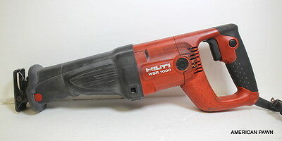 Hilti WSR1000 Corded Reciprocating Saw Tool Only WSR 1000