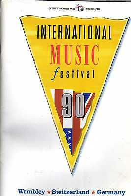 Wembley Country Music Festival Programme 1990