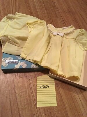 Vintage Children's clothing Baby Toddler Other Or Doll Clothes 18 Months 11264