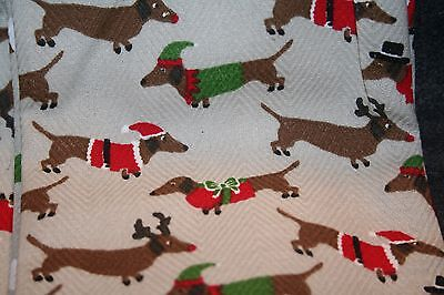 Dachshund Christmas Kitchen Towels Benefits Dog Rescue Cynthia Rowley Gift Idea