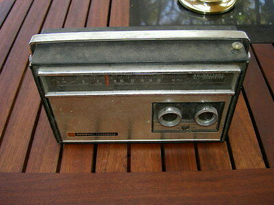 National Panasonic Model R-247Jb Ac/dc Mw/sw Transistor Radio Working Cond