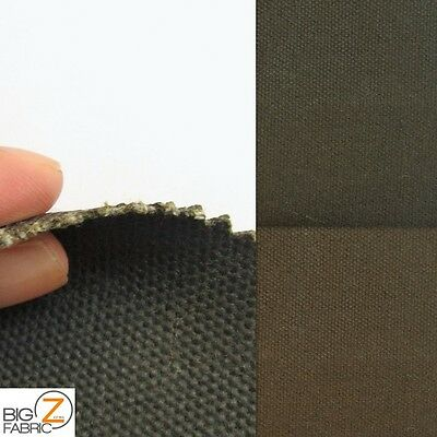Heavy Duty Waxed Cotton Canvas Fabric By The Yard Outdoor Clothing Accessories