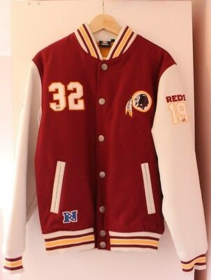 Nfl American Football Washington Redskins Gridiron Jacket ~ L