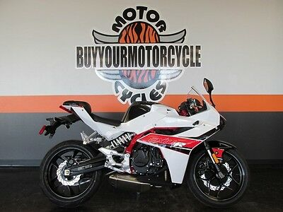 HYOSUNG GD250R  2017 White HYOSUNG GD250R WE FINANCE AND SHIP LOW DOWN EASY APPROVAL STREET BIKE